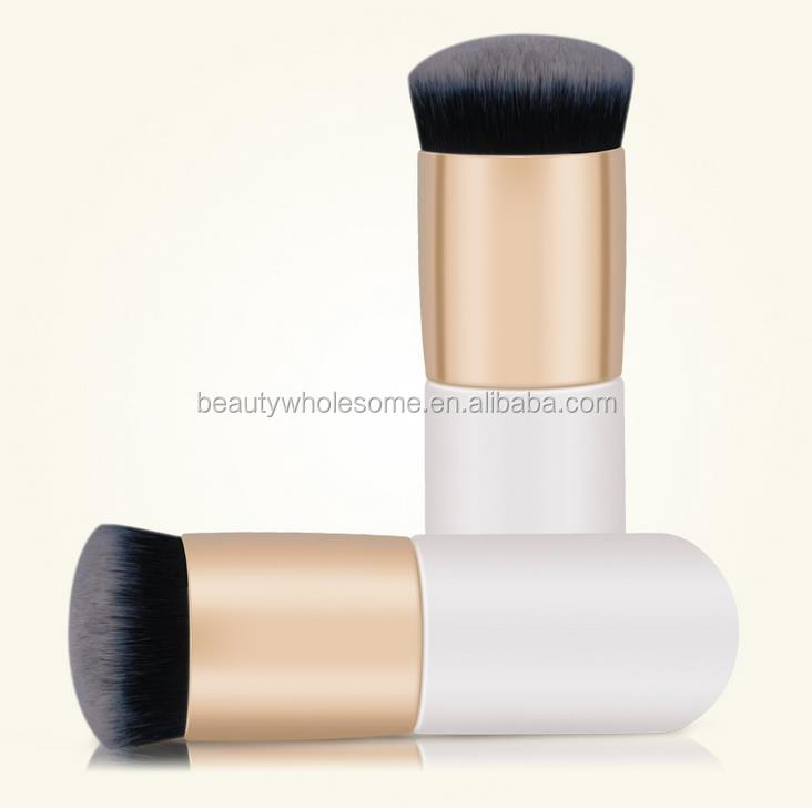 Round Top Brush Oblique Flat Foundation Brush Round Flat Makeup Brush