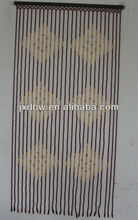 Painted Decorative Bamboo Beads Door Curtain