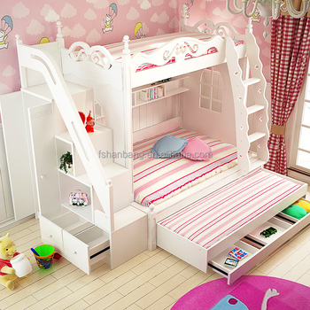 3 Tier Kids Bed Triple Bunk Bed Price Buy 3 Tier Bunk