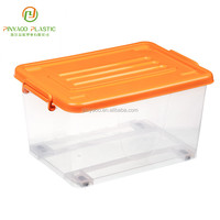 Multi-function waterproof widely use colorful plastic storage box for toy