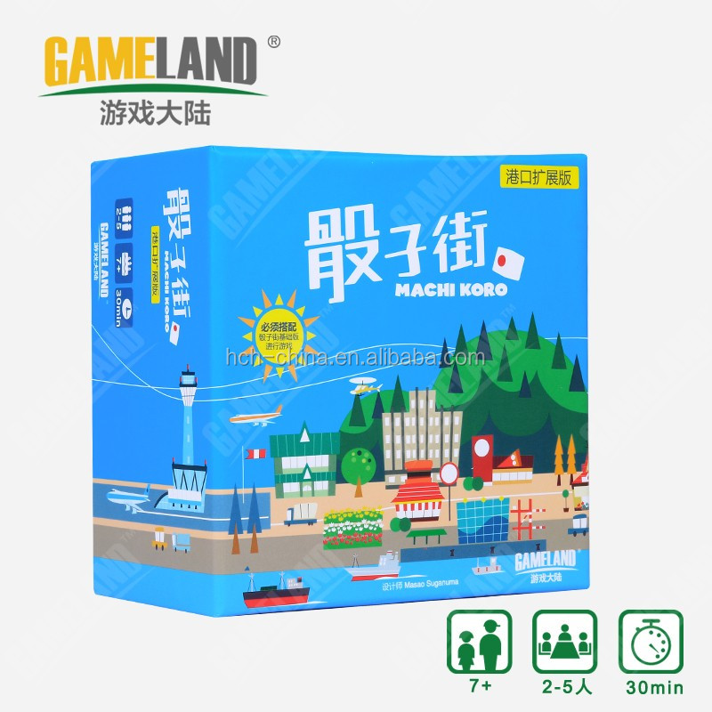 Custom Card Game Machi Koro Custom Family Board Game