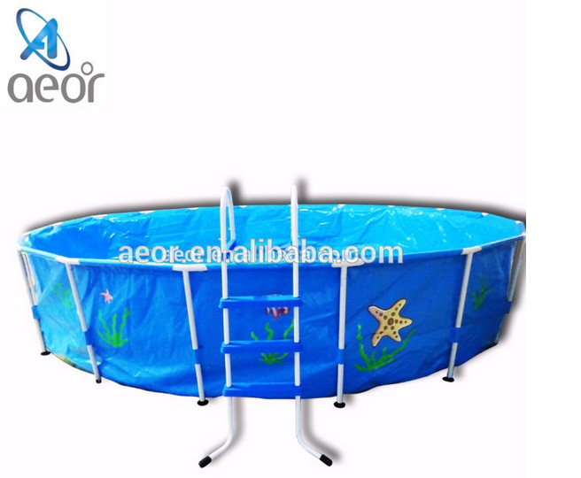 2015 newest square above ground pool inflatable square Square swimming pools for sale