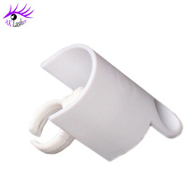 Wholesale Finger ring lash extension grafting device glue holder eyelash extension separator individual device