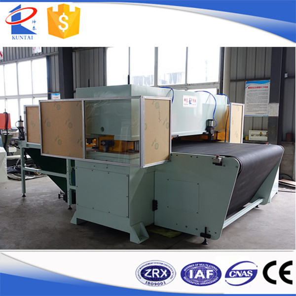 Automatic Hydraulic Cutting Machine with Conveyor Belt