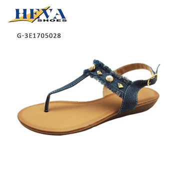 2017 Cheap wholesale form-fitting women shoes sandal