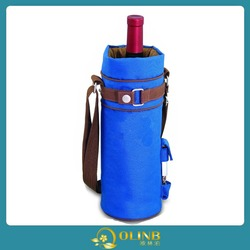 Insulated Single Bottle Wine Sack Wine Tote