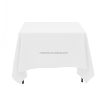 Square Plain Table Cloth Cotton Wedding Dining Tableware Linen