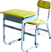 School Furniture Free Shipping Wood Old School Desk