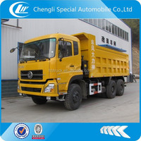 dongfeng heavy tipper lorry dump truck for sale