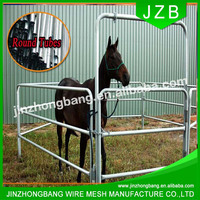 JZB-heavy duty hot dipped galvanized horse panels /metal livestock field farm fence gate for cattle or horse