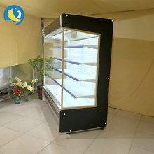 Professional supermarket dairy products display remote refrigerator upright coke display cooler refrigerator