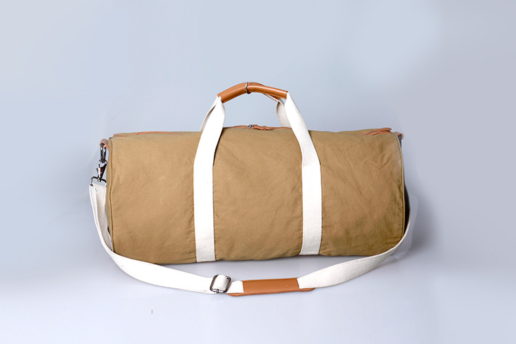 China Supplier high quality recyclable leather weekend bag travel bag