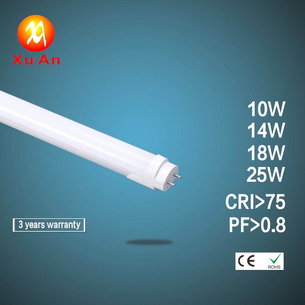 3 years warranty SMD 2835 10W 14W 18W 25W LED Tube Light