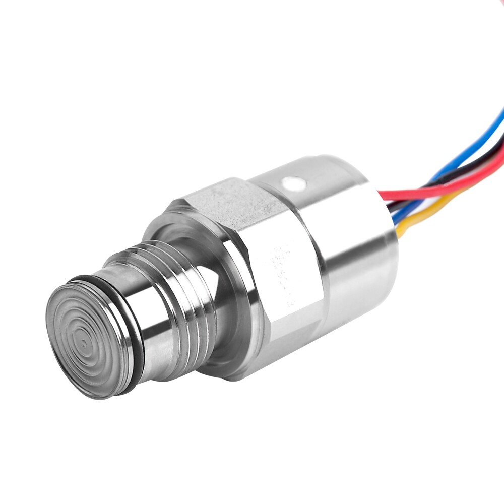 oill filled flush diaphragm medical pressure sensor