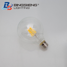 Globe E26 E27 Ce Rohs G80 8W 230V Led Vintage Light Bulb