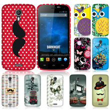 Carton Printed TPU Gel Case for Wiko darknight mobile phone case
