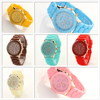 Colorful New Arrival Silicone Sport Watch/Jelly Wrist Watch/Women Watch Silicone
