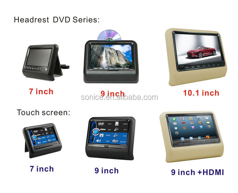 9'' touch screen car dvd player for honda accord