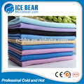 2017 summer camping outdoor sports PVA cooling towel