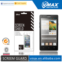 Best Qaulity ultra clear anti-radiation waterproof screen protector for Huawei ascend g700