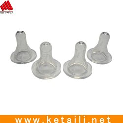 For baby feeder nipples 100% food safety silicone nipples