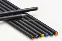 High quality HB black wood promotion pencil with diamond