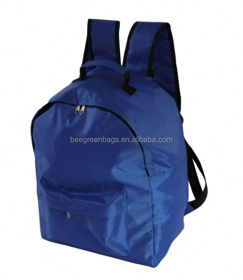 BeeGreen Hot style 210D polyester backpack secret pocket