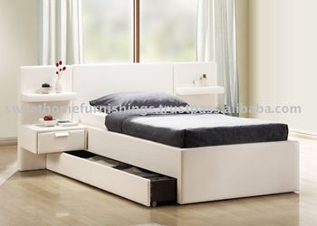 Furniture Beds/Furniture Children Single Bed/Faux Leather bed/New Bed Haley Single Bed