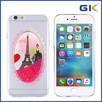 [GGIT] New Magic Mirror Colorful Drawing Liquid TPU Mobile Phone Case For IPhone 6 Cover