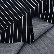 Factory new disigh custom design knitted fabric stripe for sweat suit