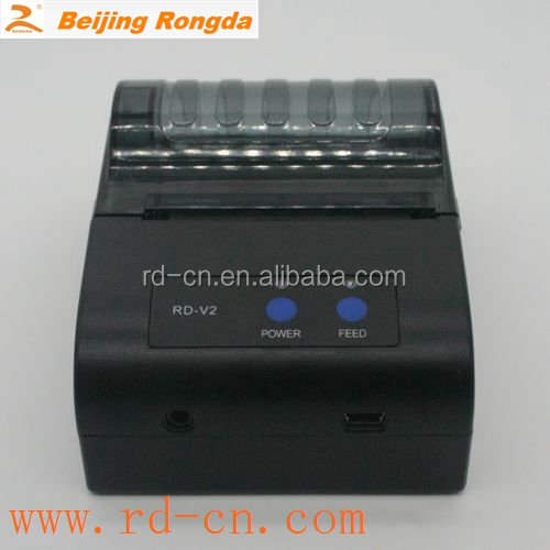 Rongda mini portable printer mobile printer pos receipt thermal printer manufacturer parallel serial port usb bluetooth wifi