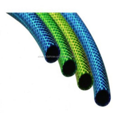 China manufacture pvc expandable garden hose pipe with symbol line