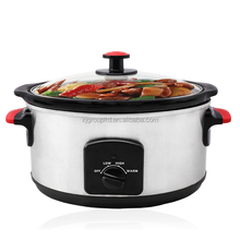XJ-13221B Chinese Wholesale Kitchen Appliance 2018 Modern Design Round Shape Slow Cooker