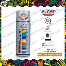 Wholesale Metallic Silver Color Aerosol Spray Paint