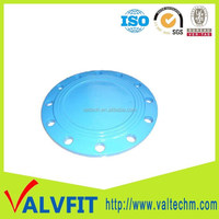 ductile iron pipe fittings connect flange blind flange blank flange