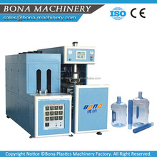 CE ISO approved semi-automatic 5 gallon plastic bottle blow molding machine