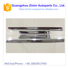 Aftermarket Modified ABS Plastic Chromed Car Door Trim Decorative Moulding Strip For LC200 FJ200 2016