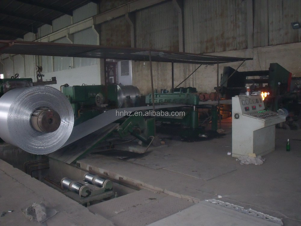 aluminum foil rolling mill for making casting rolling coils to finished aluminum foil