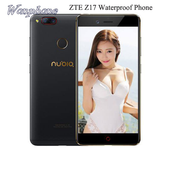 "Original ZTE Nubia Z17 Snapdragon 835 Octa core smartphone 6GB 64GB 5.5"" <strong>Android</strong> 7.1 Waterproof <strong>phone</strong>"