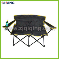 Couple folding chair for outdoor leisure HQ-3001B