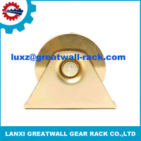 U groove stainless wheels wire guide pulley alternator pulley removal tool for wire guide bearing your drawing