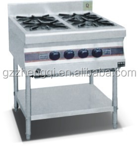 Hot Sale commercial gas stove burner, gas stove 4 burners, portable 4 burner gas stove(ZQW-33)