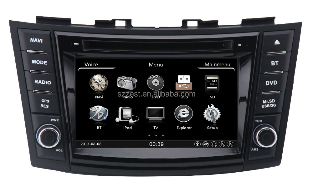 2016 NEW touch screen car stereo car dvd vcd cd mp3 mp4 player, for suzuki swift car dvd gps navigation system#
