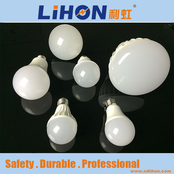 Foshan production timing 7W 27 E smart mobile control LED electrical light bulbs