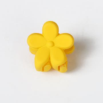 mini flower shape colorful kids hair clips/hairgrips