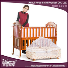 2016 Wooden Baby Crib Hammock Bed Extender For Baby Doll Cribs and Beds