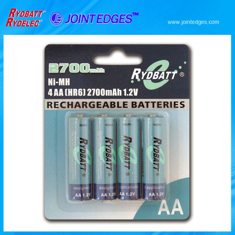 NiMH rechargeable high capacity 1600mAh 1.5v um3 battery aa size battery