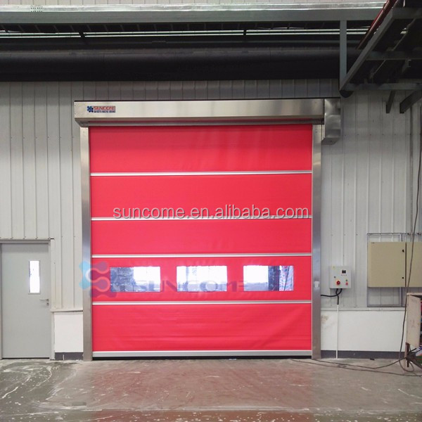 China Supplier Wholesale Large Capacity plastic pvc rolling shutter doors