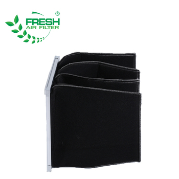 Foshan suppliers industrial non woven fabric pocket bag filter for hvac activated carbon filter