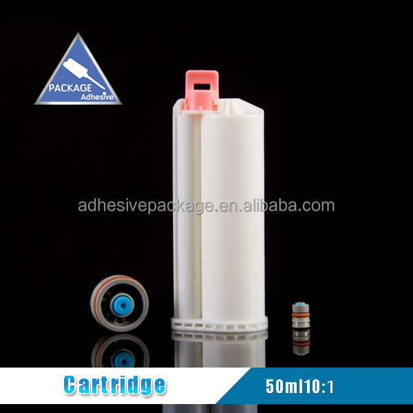 50ml 10:1 Plastic Silicone Sealant Tube With Caps For Dental